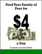 Cover of Feed Your Family of Four for $4 a Day