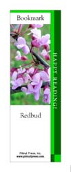 This bookmark depicts a Redbud.