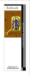 This bookmark depicts the book titled Webb's Wondrous Tales Book 1.